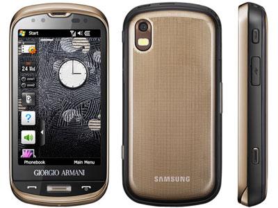 Armani Telefoon Van Samsung Met Uitschuifbaar Toetsenbord